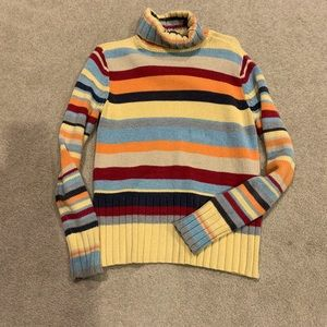 Cotton turtleneck sweater size small